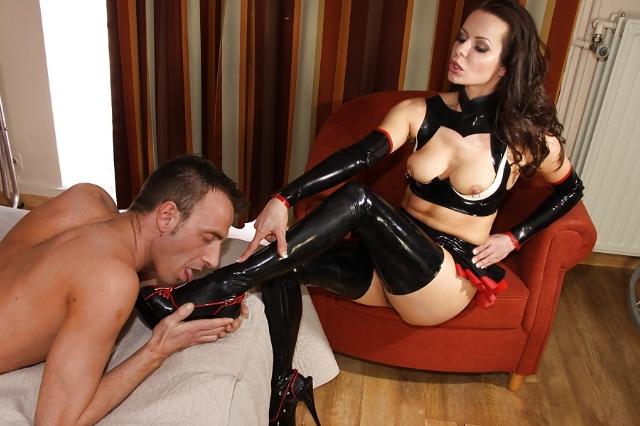 Проститутка госпожа и раб